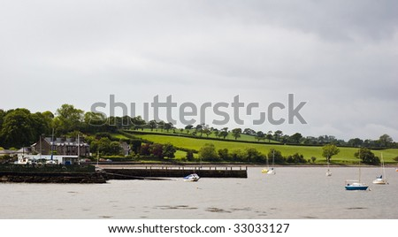 Scottish coastal scene - stock photo