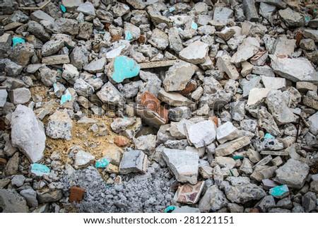 Scrap Materials - stock photo