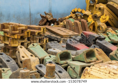 Scrap metals - stock photo