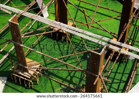 Scrap Steel Metal - stock photo