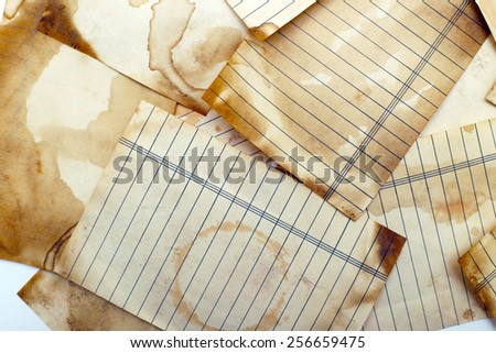 scrapbook background. Vintage page