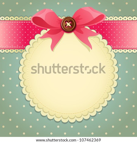 scrapbook page - stock photo
