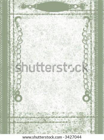 Scrapbook Page Layout - Nautical-Themed - stock photo