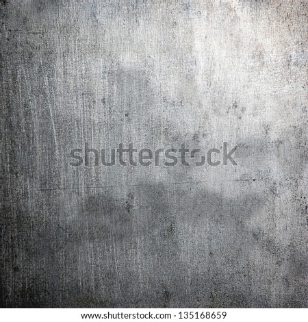 scratched grunge metal plating ; abstract industrial background - stock photo