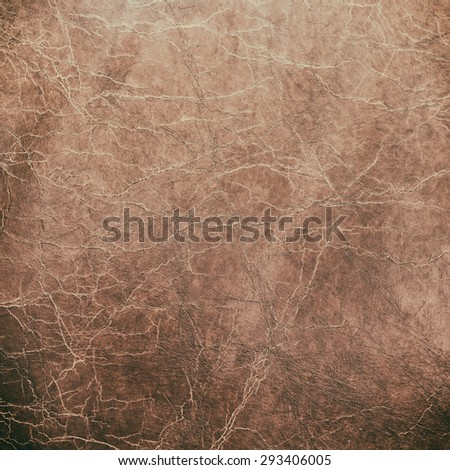 scratched leather texture. - stock photo