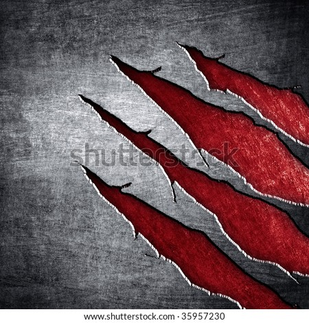Scratched Metal Background Stock Illustration 51916855