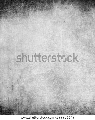 scratched texture background with grunge frame - stock photo