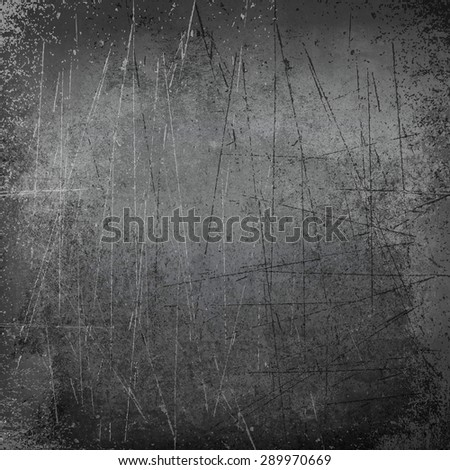 scratches black - stock photo