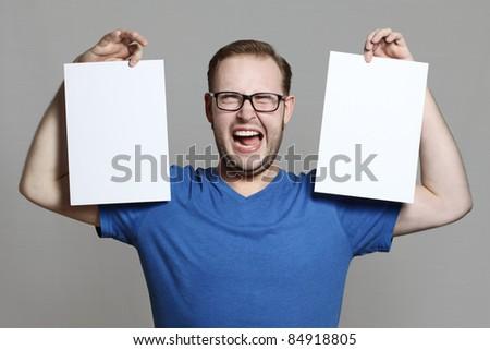 scream - stock photo