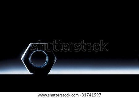 screw-nut - stock photo
