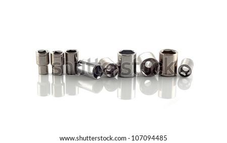 Screwdriver bits - stock photo