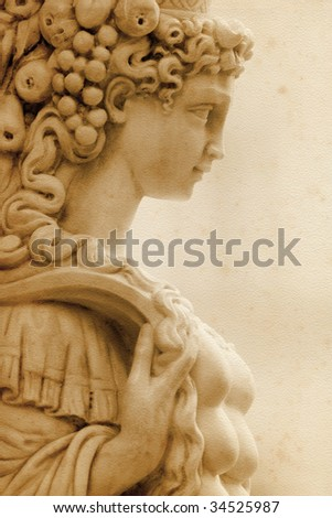 Sculpture from Piazza Senioria in Florence (Italy) - stock photo