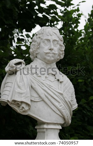 Sculpture in Sanssouci park (Potsdam, Germany) - stock photo