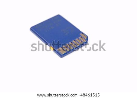 SD card - stock photo