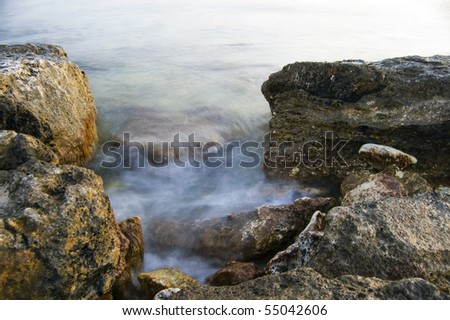 sea at long exposure