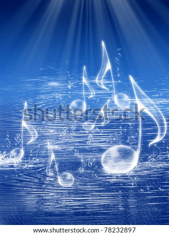 SEA Background Music - stock photo