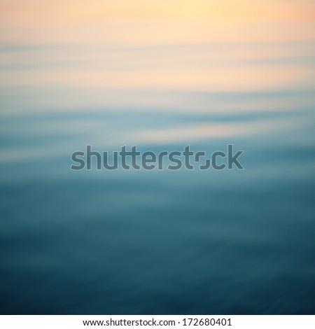 sea background,sea at sunset - stock photo