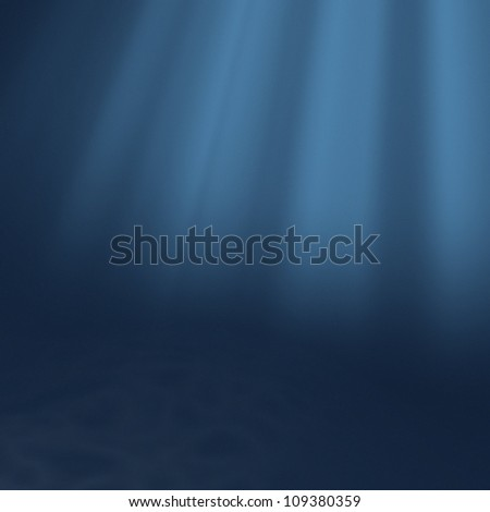 Sea background with sunlight on top. - stock photo