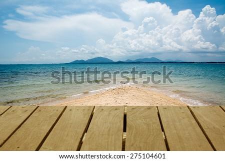 sea beach of Thailand , Ko Samet, asia - stock photo