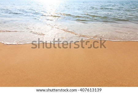 sea beach relaxation landscape