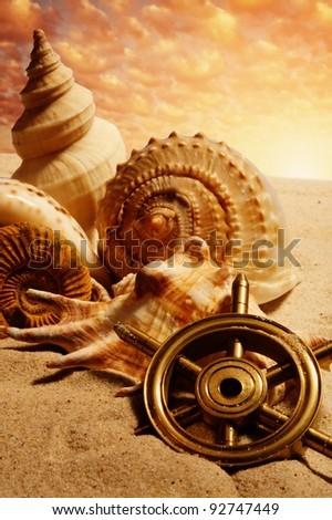 Sea concept. - stock photo