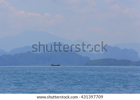 Sea fishing vessels - stock photo