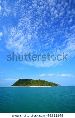 Sea in Thailand - stock photo