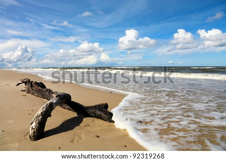 Sea landscape, Baltic Sea