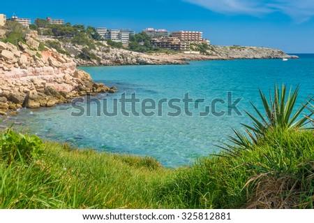 Sea Landscape Salou - stock photo