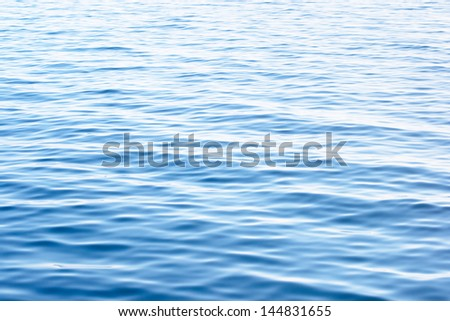 Sea or ocean surface background