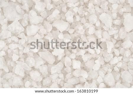 Sea salt background  - stock photo