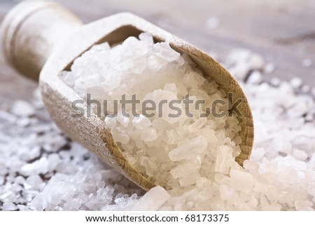 Sea Salt on a Shovel