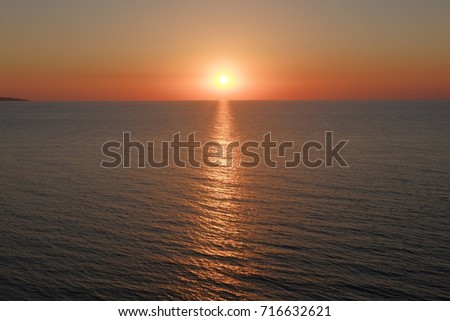 stock-photo-sea-sunset-over-sea-of-azov-