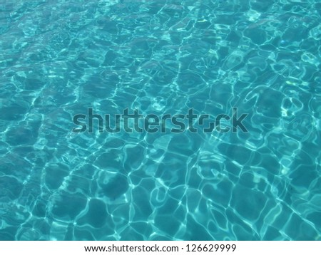 Sea surface abstract background - stock photo