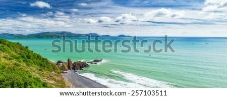 Sea view panorama. Vietnam - stock photo
