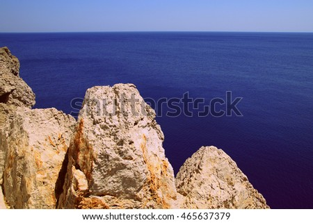Sea view with the rocks