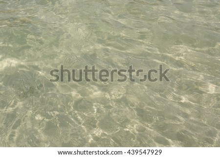 sea water and, textured background - stock photo