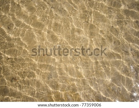 sea water background