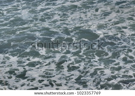 sea water texture in motion refreshing and relaxing  with white colors