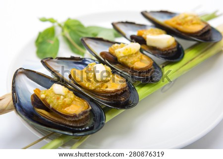 Seafood  Chilean mussel dishes