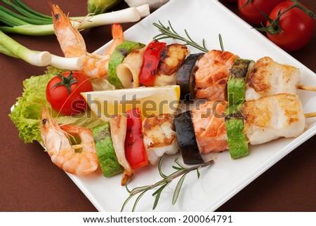 Фото закуски из морепродуктов