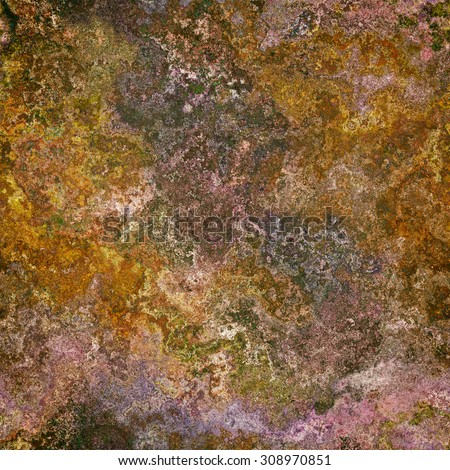 Seamless abstract background brown elegant pattern - stock photo