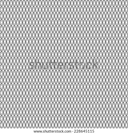 seamless abstract black white pattern black white texture with black ellipse on white background raster - stock photo