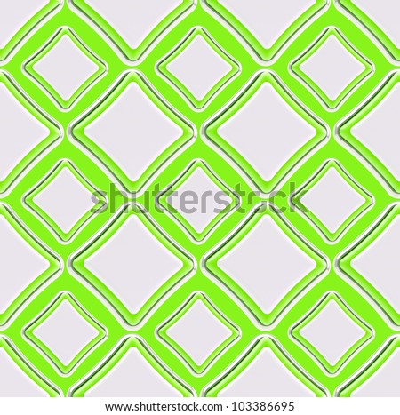 Seamless abstract geometric background made of glossy bright square figures