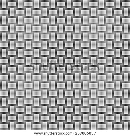 seamless abstract grey pattern gray texture with black line wicker dull background raster - stock photo