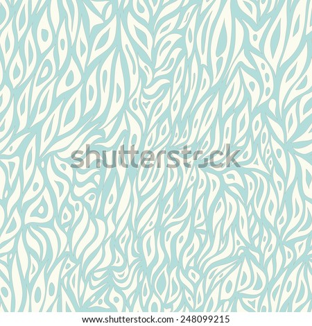 Seamless abstract hand-drawn pattern  - stock photo