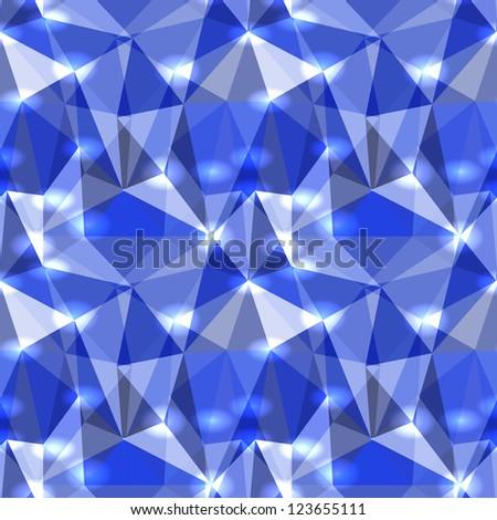 Seamless Abstract Pattern - stock photo