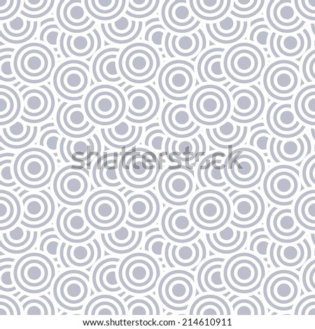 seamless abstract pattern as circle