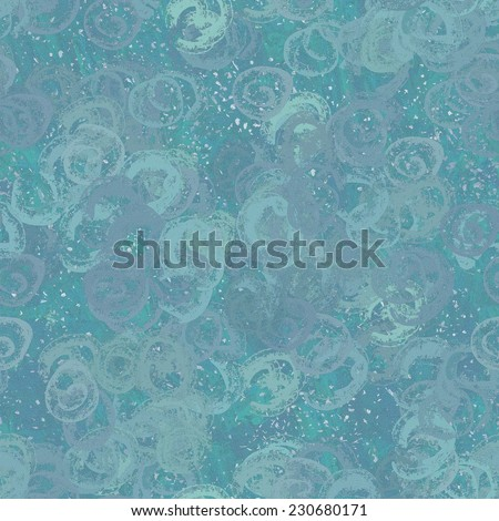 Seamless abstract pattern. Digital painting. It is possible to repeat (duplicate) it continuously without any visible seams.  - stock photo