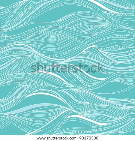 seamless abstract pattern, waves